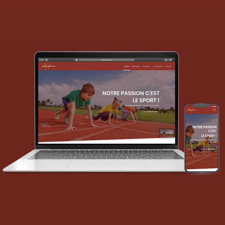 Site web FSG La Sarraz